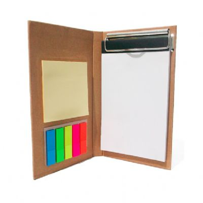 allury-gifts - Bloco de anotações ecológico com calculadora