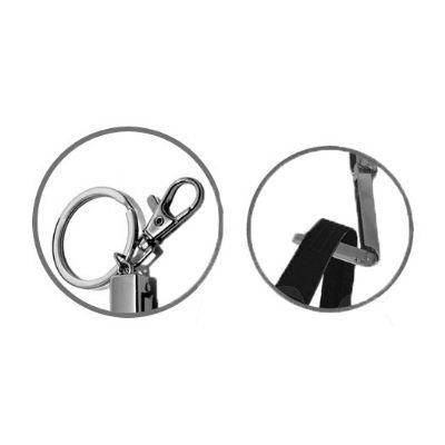 Allury Gifts - Porta bolsa de metal redondo