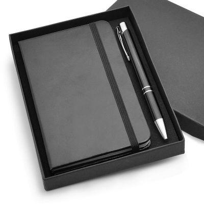 allury-gifts - Kit especial moleskine com caneta metal