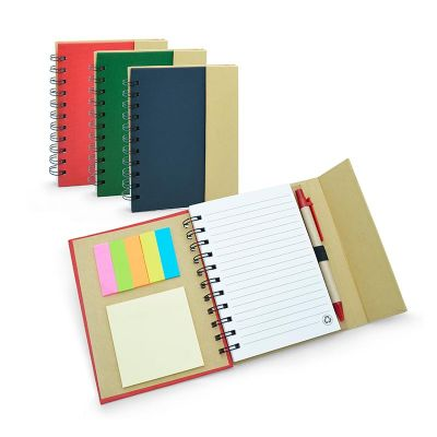 Allury Gifts - Caderno color Eco com espiral