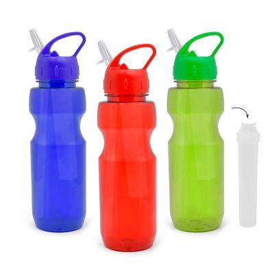 Allury Brindes - Squeeze color plástico translúcido