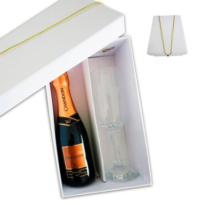 Kit chandon baby e 1 taça - Allury Brindes
