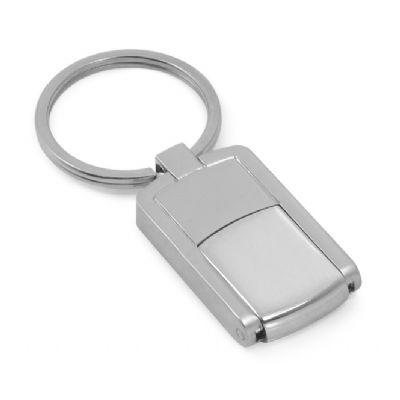 Allury Brindes - Pen Drive chaveiro metal mini giratório