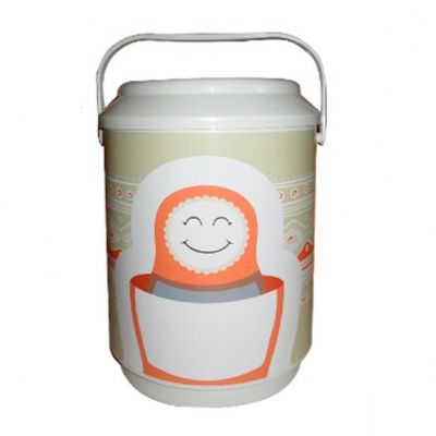 Allury Gifts - Cooler térmico para 6 latas PVC rígido
