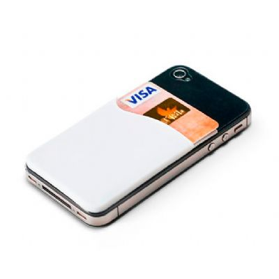 Allury Brindes - Porta cartões para smartphone em PVC