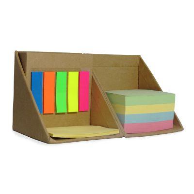 Allury Gifts - Bloco de anotação cubo com porta-caneta