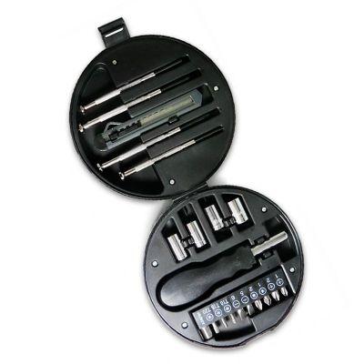 Allury Brindes - Kit ferramentas com estojo formato pneu
