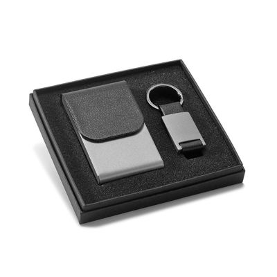 Allury Gifts - Kit porta cartões e chaveiro