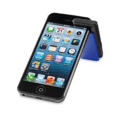 Allury Brindes - Suporte para celular com ponteira touch e limpador de tela