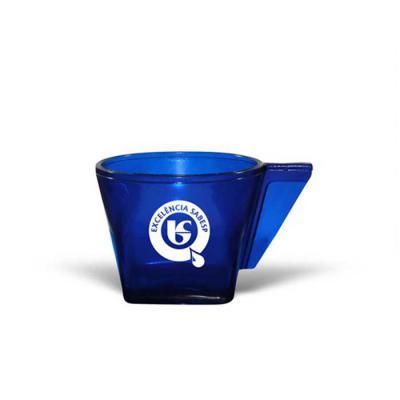 allury-gifts - Xícara CAFÉ, 50mL,  feita em PS Cristal que garante transparência e durabilidade ao produto. Design exclusivo do Grupo BB. Cores Disponíveis - CRISTAL...