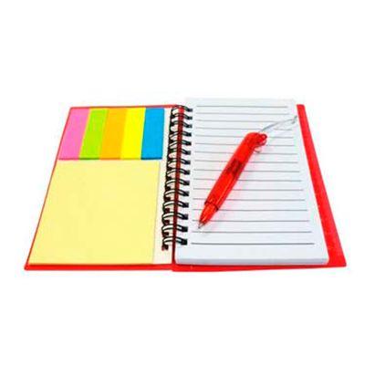Allury Brindes - Bloco de anotações personalizado com sticky notes auto colante