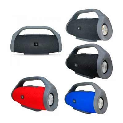 Allury Brindes - Caixa de Som Bluetooth Portátil personalizada