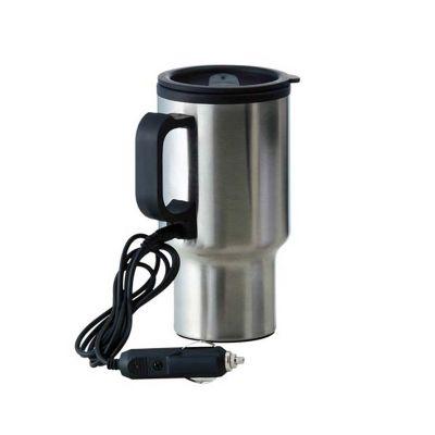 Allury Gifts - Caneca térmica 450ml com aquecedor para carro
