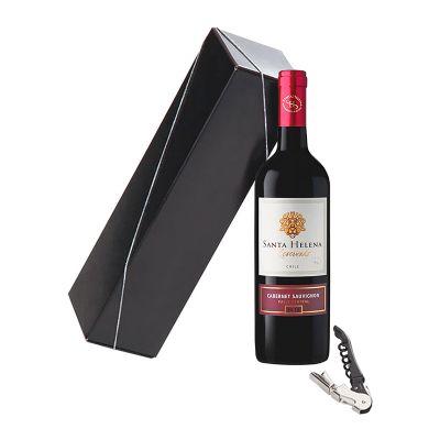 Allury Gifts - Kit vinho com saca-rolhas personalizado