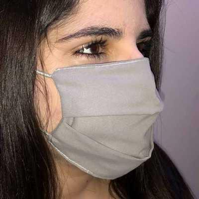 Máscara lavável com elástico personalizada