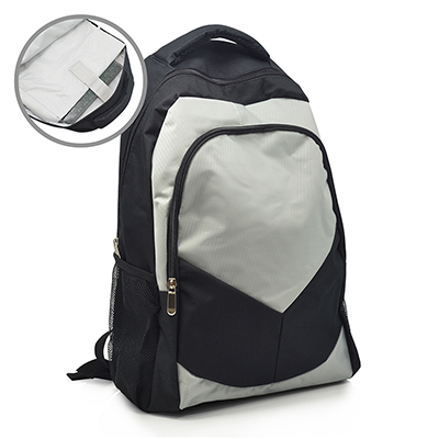Mochila Confeccionada em Poliéster 600 e Nylon Rip Stop com porta Notebook para dar de brinde. Ideal para estudantes e profissionais que procuram tran...