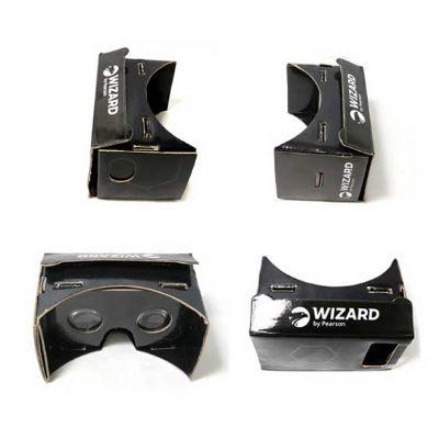Allury Brindes - Óculos de realidade virtual 360° simples etiqueta