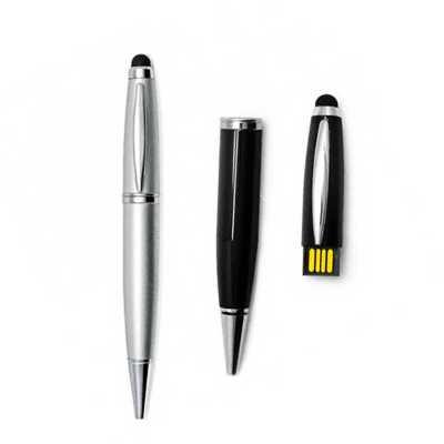 Allury Brindes - Caneta Pen Drive Touch Personalizada