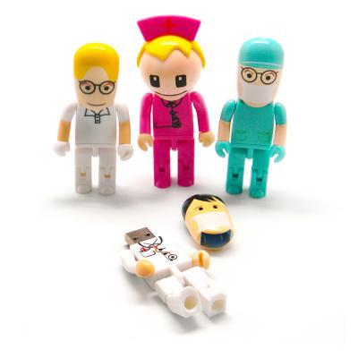 Pen Drive Formato Bonecos Médicos 1