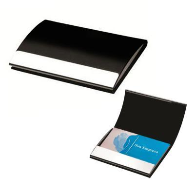 Allury Brindes - Porta Cartão em Couro Sintético Executivo 1