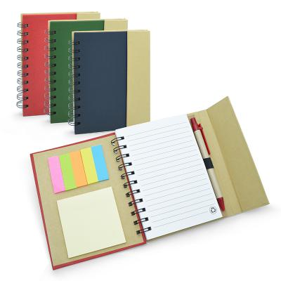CADERNO COLOR ECO COM ESPIRAL 1