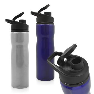 Allury Brindes - Squeeze confeccionado em inox 750ml. Com tampa e alça em plástico resistente que pode ser facilmente transportado para qualquer lugar, mantém a bebida...