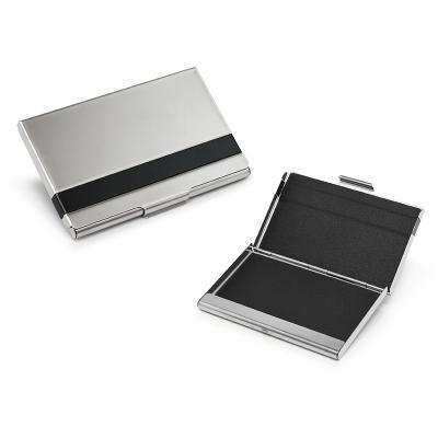 Allury Brindes - Porta Cartão Metal Espelhado 1