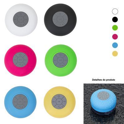 Allury Brindes - Caixa de Som Resistente a Água com Bluetooth 1
