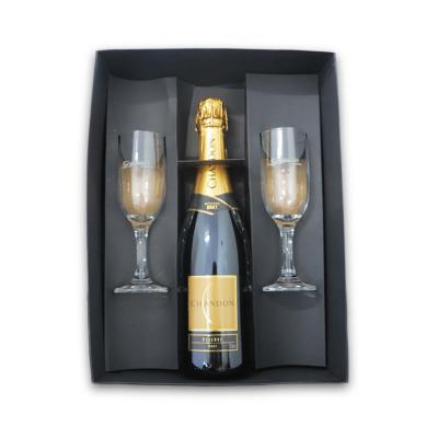 Allury Brindes - Kit Chandon com 2 Taças Gallant 1