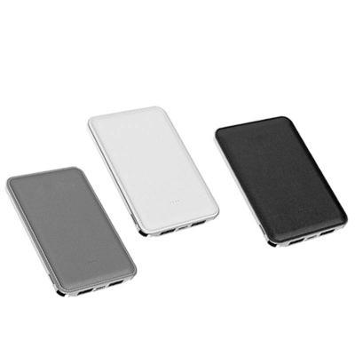 allury-gifts - Carregador Power Bank Bateria Slim 2 USB 5000mAh 1