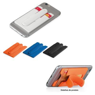 Porta Cartão para Celular em Silicone 1