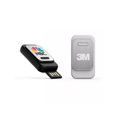 Allury Brindes - Pen Drive Retrátil de 4GB 1