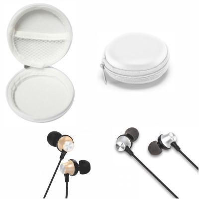 Fone de ouvido com controle e microfone com Estojo 1