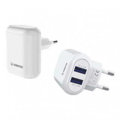 Carregador Universal com 2 USB 2.4A 1