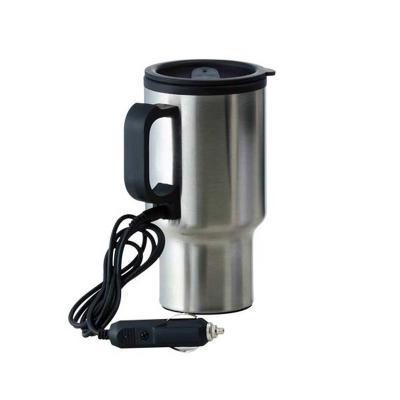 allury-gifts - Caneca Inox 450ml com Aquecedor para Carro 1