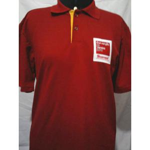 Brindes Ponto A - Camiseta Polo com 2 cores.