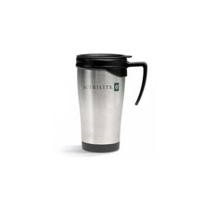 Brindes Ponto A - Caneca térmica personalizada com tampa com capacidade de até 450 ml. Sua marca estampada em um produto de alta qualidade que proporciona a seus client...