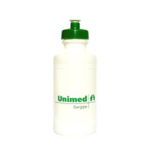 Brindes Ponto A - Squeeze plástico com capacidade para 500 ml.