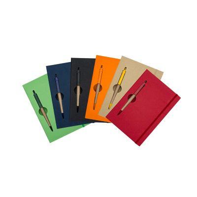 Essence Brindes - Bloco de anotações com caneta