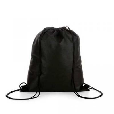 Saco mochila em tecido - Qualy Brindes