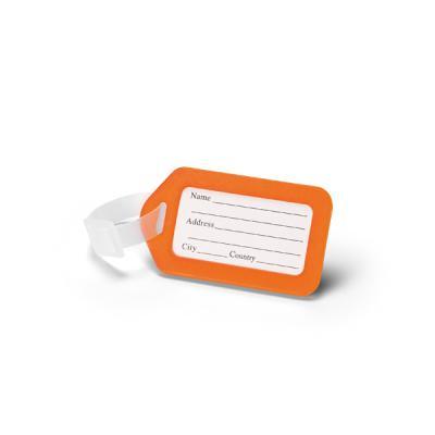 Identificador de bagagem. PP. Ideal para malas de viagem. 87 x 50 x 4 mm - Brindes Qualy