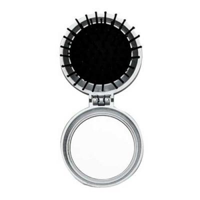 Espelho de bolsa com escova - Brindes Qualy