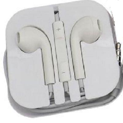 Qualy Brindes - Fone de ouvido, diversas cores, com regular de volume, embalado caixa de acrilico. Personalização: Tampografia