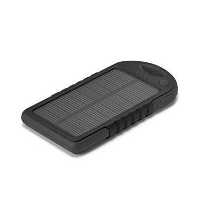 Qualy Brindes - Bateria portátil solar.