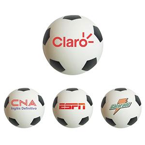 Qualy Brindes - Bolinha antiestresse no formato de uma bola de futebol
