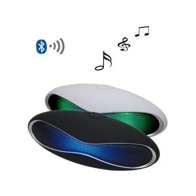 Qualy Brindes - Caixa de som em formato oval.