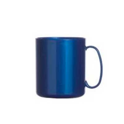 qualy-brindes - Caneca plástica personalizada, 350 ml