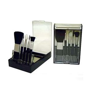 Qualy Brindes - Kit maquiagem, caixa com 5 pincéis