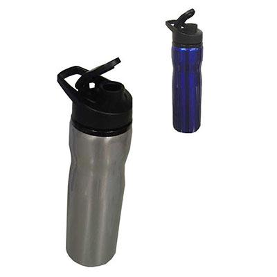 Qualy Brindes - Squeeze inox 750 ml. Personalização: Laser