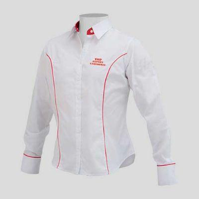 Camisa social feminina personalizada - 136181  db3da30be9f47
